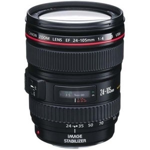 Canon EF 24-105mm f/4L IS USM Zoom Lens (New in Non-Retail Packaging)
