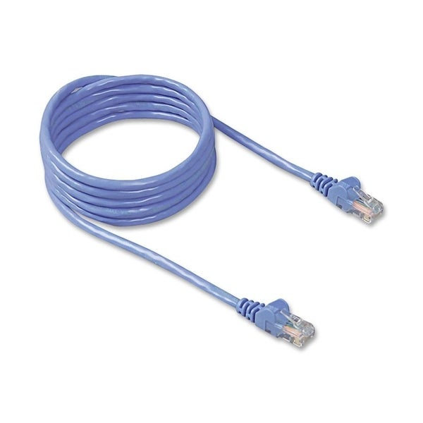 Belkin Patch Cable, 25ft, Blue