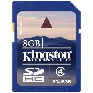 Kingston 8GB Secure Digital High Capacity (SDHC) Card - Class 4