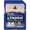 Kingston 8GB Secure Digital High Capacity (SDHC) Card - Class 4