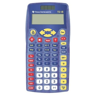Texas Instruments TI-15 School Calculator