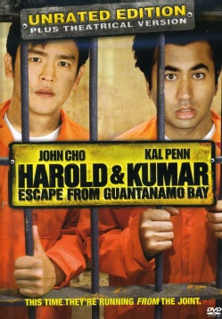 Harold and Kumar Escape from Guantanamo Bay (DVD)