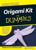 Origami Kit For Dummies (Paperback)