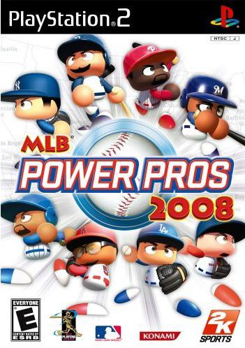 PS2 - MLB Power Pros 2008