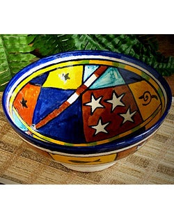 Extra Large African Ceramic Bowl (Morocco)