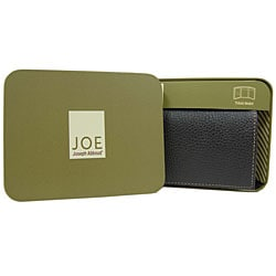 Joe by Joseph Abboud Men's Leather Tri-fold Wallet