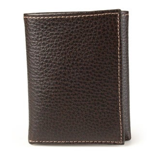 Joe by Joseph Abboud Men's Leather Tri-fold Wallet