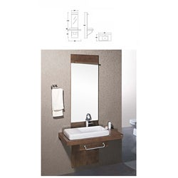 Lowe Modern Bathroom Vanity Set