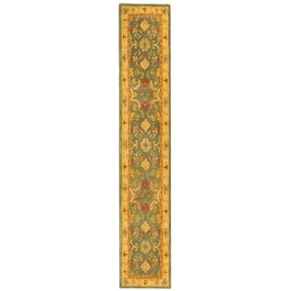 Safavieh Handmade Legacy Light Blue Wool Runner (2'3 x 8')