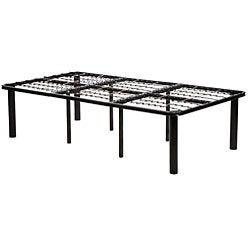 Black Steel Mattress Bed Frame Twin Extra Long