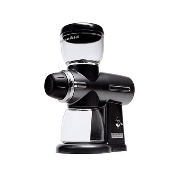 KitchenAid KPCG100OB Onyx Black Pro Line Burr Coffee Mill