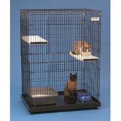 Precision Large Cat House & Enclosure
