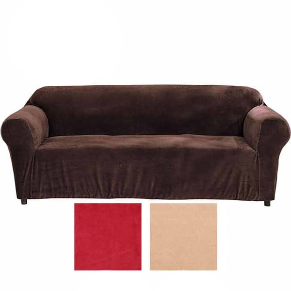 Minicord Stretch Sofa Tight Fit Solid