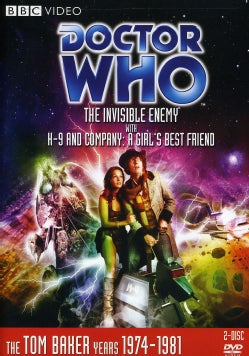 Doctor Who: The Invisible Enemy (No. 93) with K9 and Company- A Girl's Best Friend (DVD)