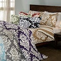 Havana Floral Reversible 3-piece Duvet Cover Set