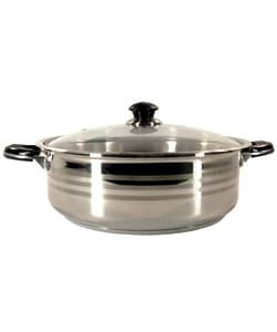 Heavy-duty 18/10 Stainless Steel 10-piece Cookware Set