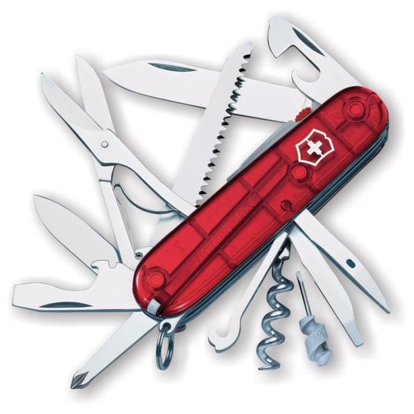 Victorinox Swiss Army Huntsman Lite Ruby Pocket Knife 3877417