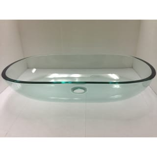 Fiona BTR-005-NY0084 Glass Vessel Bathroom Sink