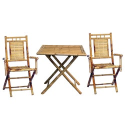 Bamboo 3-piece Table and Chair Set (Vietnam)