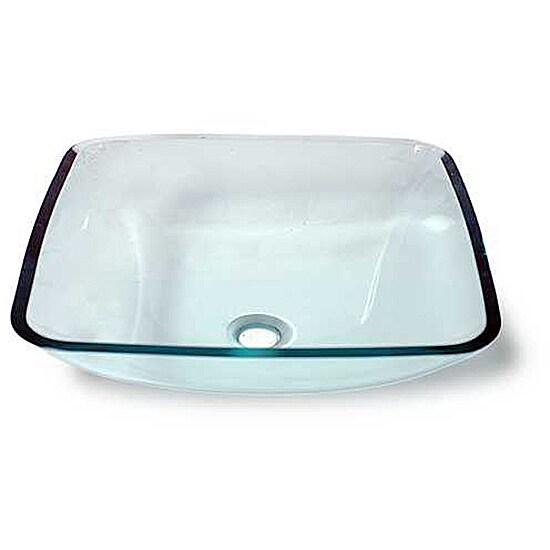 Eirwyn Glass Vessel Bathroom Sink by Flotera