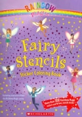 Fairy Stencils Sticker Coloring Book (Paperback)