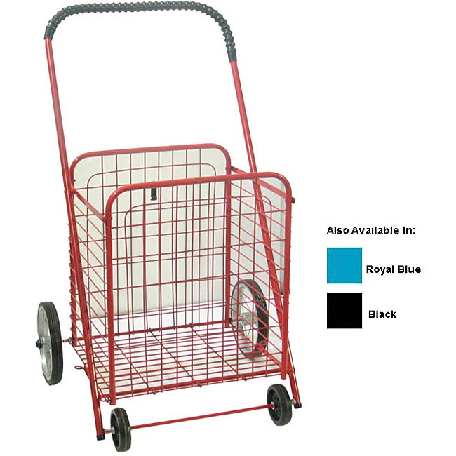 Medium Shopping Cart with Rubber Wheels