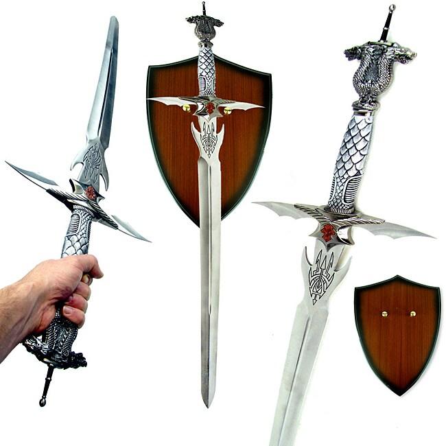 Authentic Celtic Dragon Longsword