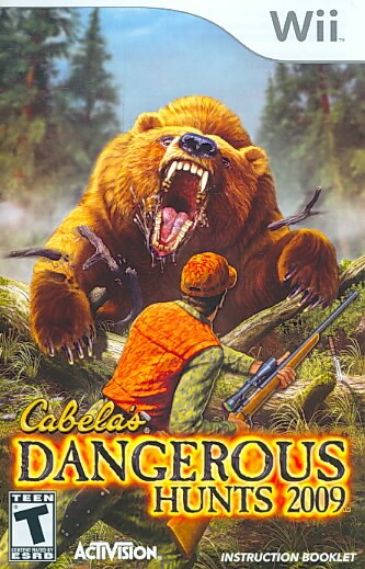 Wii - Cabela's 09 Dangerous Hunts