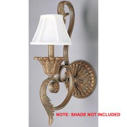 Stephano 1-light Camel Beige Wall Sconce