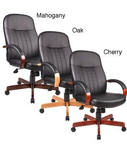 Boss High-back Executive Leather Chair