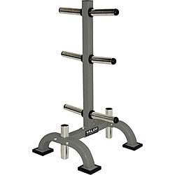 Valor Fitness Olympic Bar and Plate Rack