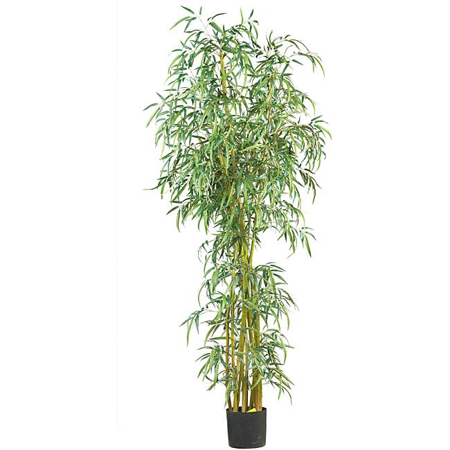 Silk Fancy Style Slim 7-foot Bamboo Tree