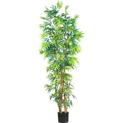 Silk Fancy Style 7-foot Bamboo Tree