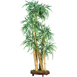 Silk Chinese Style 42-inch Bamboo Tree