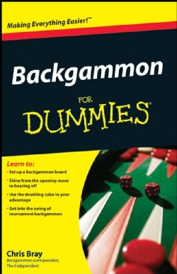 Backgammon For Dummies (Paperback)