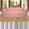 Nantucket Round Arm Loveseat Slipcover