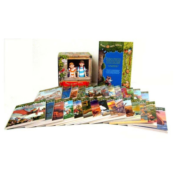 Magic Tree House Library Books 1-28