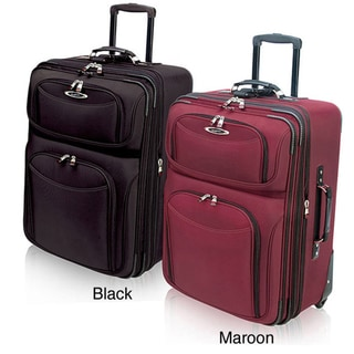 Traveler's Choice El Dorado Ballistic Nylon 21-inch Carry-on Upright