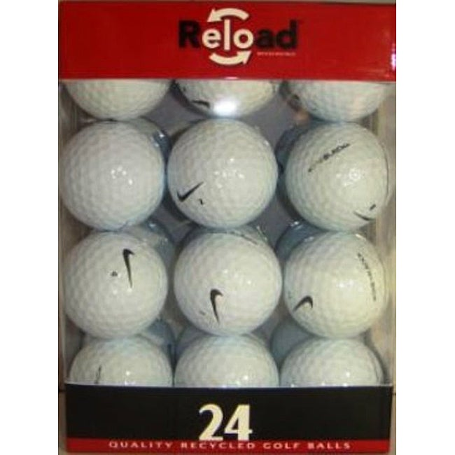 Nike One Black Recycled Golf Balls (Pack of 48)