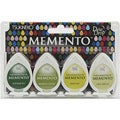 Fast-Drying Memento Dew Drops Dye Inkpad (Pack of Four)