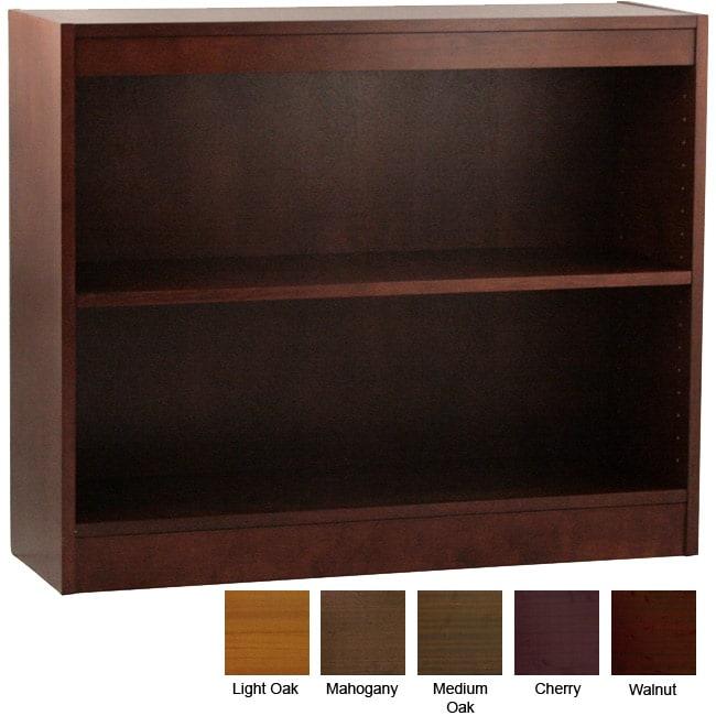Ergocraft Laguna 2-shelf Wood Veneer Bookcase