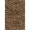 "Hand-Tufted Contemporary Mandara Area Rug (7'9"" x 10'6"")"