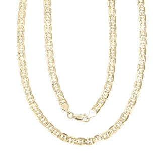 Simon Frank 14k Gold Overlay 8mm Gucci-style Necklace (30-inch)