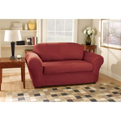 Sure Fit Stretch Suede Loveseat Slipcover