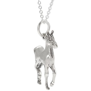 Tressa Sterling Silver Horse Necklace