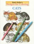 Ruth Heller's Designs for Coloring: Cats (Paperback)