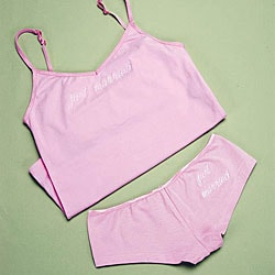 Just Married Camisole and Boyshort Set