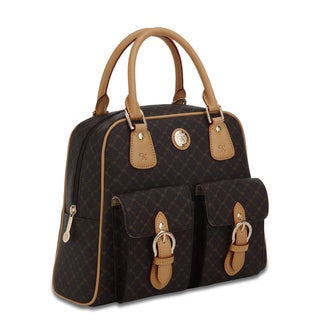 Rioni Signature Top Handle Organizer Handbag