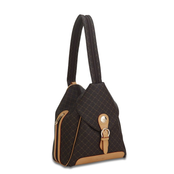 Rioni Signature Zipper Strap Backpack