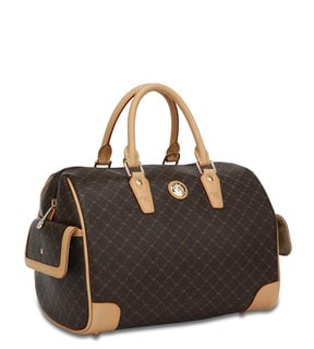 Rioni Signature Large Boston Handbag